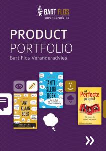 Product Portfolio - (c) Bart Flos Veranderadvies