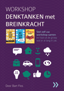 Workshop Denktanken met Breinkracht - Cover