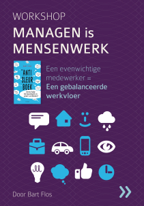 Workshop Managen is Mensenwerk - Cover