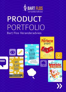 Product Portfolio2 - Voorpagina JPEG - (c) Bart Flos Veranderadvies