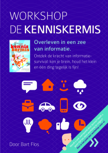 Workshop De kenniskermis - Brochure - Voorpagina JPEG